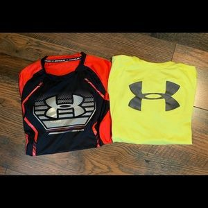2 Under Armour Youth XL T-Shirts